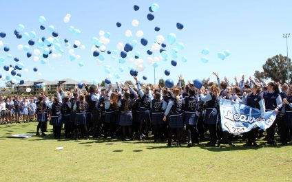 Year 12 Students Celebrate their Final Day at School